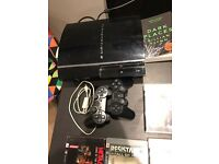 Sony Playstation 3, x7 games & 2x controllers