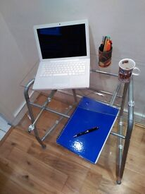 Glass desk - home office/kids study