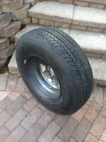 One Goodyear Invicta GA 225 75 15 Never Used