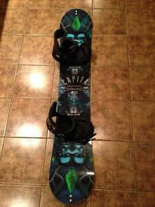 Capita Indoor Survival Snowboard with Bindings