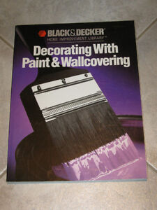 ...BLACK & DECKER..DECORATING With PAINT & WALL PAPER