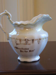 ..AN ADORABLE OLD MINI-SIZED CHINA PITCHER...
