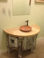 Antique style custom Designer Unit. Reclaimed ON SALE NO TAX