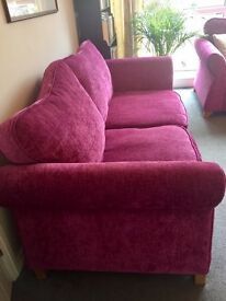 Two DFS sofas great condition