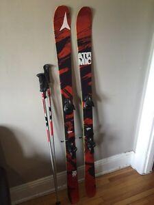 2012 Atomic Theory all mountain skis  Cornwall Ontario image 2