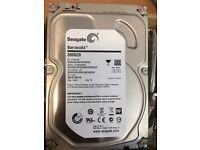 """Seagate 3000GB 3 TB PC 3.5"""" Hard Drive Used"""