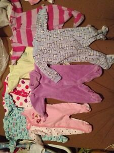 Mostly girl clothes! Ranging from NB TO 9 Months  London Ontario image 6