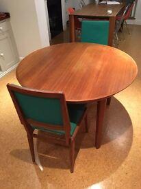 Vintage and Loved Teak Mid Century Table