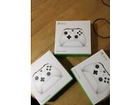 Xbox One White Controller Brand new sealed + others check description