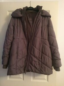 Thyme Maternity Lg Winter Jacket