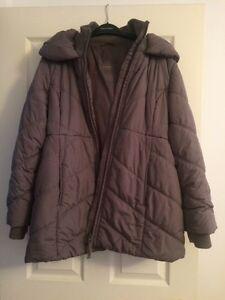 Thyme Maternity Lg Winter Jacket