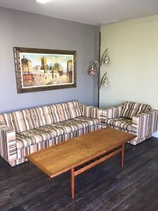 Midcentury Sofa and chair