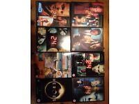 24 series 1-6, breaking bad series 1-4, heroes 1 DVD