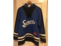 Supreme royal hockey hoodie 3M