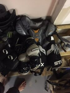 "Lacrosse equipment  box and field  ""open to offers "" Regina Regina Area image 1"
