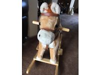 Children's musical rocking horse Used