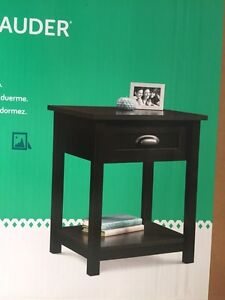 Brand new sauder night stands/side tables