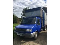 3.5ton horsebox, carries 2 horses, can drive on a car licence