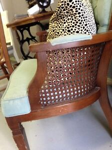 Caned occasional chair Kitchener / Waterloo Kitchener Area image 2