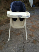 Chaise Haute Graco Easy High Chair Watch|Share |Print|Report Ad