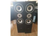 Hyundai multicav speakers floorstanding 180 w