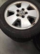 "Set of 15""wheels 5x110pcd with good tyres! East Victoria Park Victoria Park Area Preview"