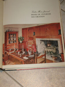 '50's EDITION .LADIES' HOME JOURNAL..BOOK of INTERIOR DECORATION
