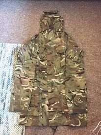 Brand new MTP army style camouflage jacket.