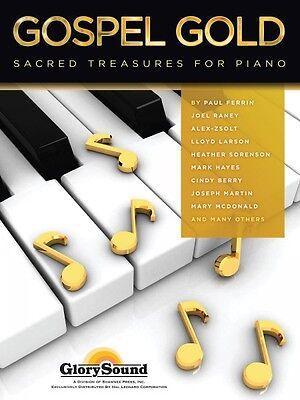 Gospel Gold Sheet Music Sacred Treasures for Piano Glory Sound Book NE 035027306