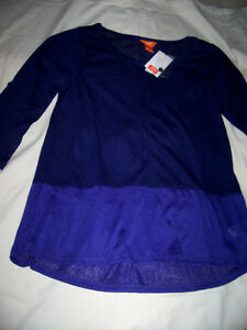 Joe Fresh colour block sweater - brand new with tag London Ontario image 2