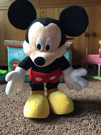 Dance and talk Mickey Mouse from the disney store