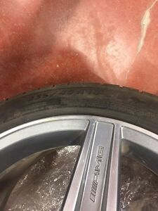 Mercedes AMG rims and winter tires.  Regina Regina Area image 3