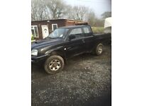 2005 Mitsubishi l200 gl for work lwb