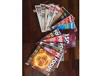 17 New Scientist and Focus magazines