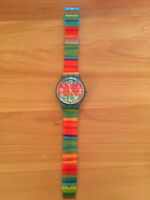 Colourful Swatch Watch