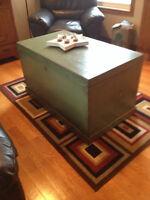 antique blanket boxes