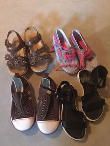 Lot of New toddler size 9 girls shoes