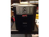 APC pic or server UPS as new two brand new batteries installed does not come with leads