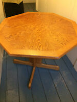 wooden table and foot rest - $49 (vancouver) Watch|Share |Pri