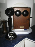 OLD-FASHIONED ANTIQUE NORTHERN ELECTRIC  Co. TELEPHONE