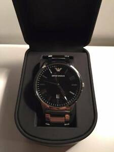 (Men) Emporio Armani Watch AR2457 $250 with life time battery North Sydney North Sydney Area Preview