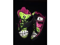 Iron Fist Zombie Stompers hi top sneakers
