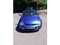 FORD KA CONVERTIBLE...NEW MOT...LOW MILEAGE.
