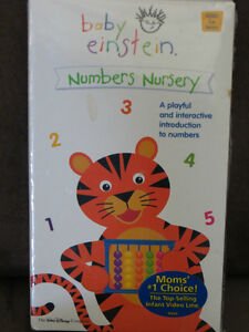 5 Baby Einstein VHS tapes Kitchener / Waterloo Kitchener Area image 3