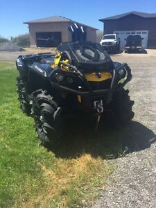 2015 can am outlander xmr 800