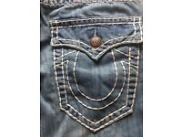 Men's new true religion jeans