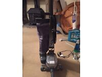 Kirby Vacuum with carpet shampoo equipment and all attachments.