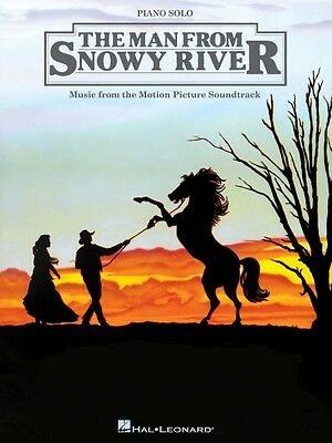The Man from Snowy River Sheet Music from Movie Soundtrack Piano Solo  000313565