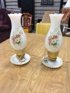 Gorgeous antique lamps