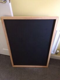 **LARGE WOODEN CHALK BOARD**WEDDINGS**